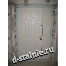 Стальная дверь 01-01, МДФ + МДФ