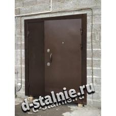 Стальная дверь 00-06, Порошковое напыление + Порошковое напыление