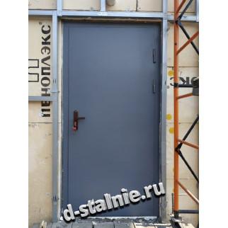 Стальная дверь 00-08, Порошковое напыление + Порошковое напыление