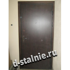 Стальная дверь 00-41, Ламинат + Ламинат