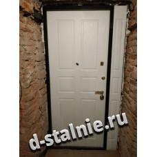 Входная металлическая дверь 1-014,  МДФ +  МДФ