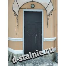 Входная металлическая дверь 1-005,  МДФ +  МДФ