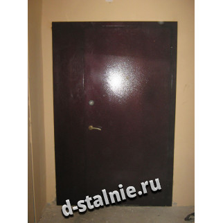 Стальная дверь 00-57, Порошковое напыление + Порошковое напыление