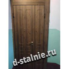 Стальная дверь 1-012, МДФ + МДФ
