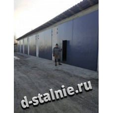 Стальная дверь 00-93, Порошковое напыление + Порошковое напыление