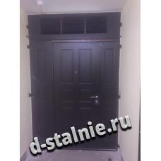 Стальная дверь 1-006, МДФ + МДФ