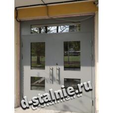 Стальная дверь 00-20, Порошковое напыление + Порошковое напыление