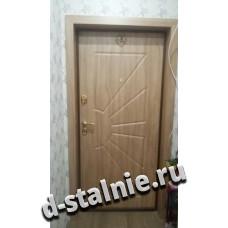 Стальная дверь 00-31, МДФ + МДФ