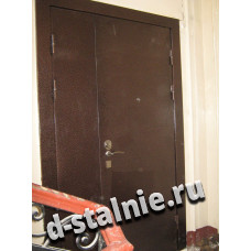 Стальная дверь 00-97, Порошковое напыление + Порошковое напыление