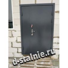 Стальная дверь 1-015, Порошковое напыление + Порошковое напыление