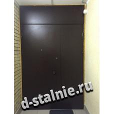 Стальная дверь 00-55, Порошковое напыление + Порошковое напыление