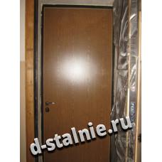 Стальная дверь 00-37, Ламинат + Ламинат