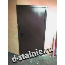 Стальная дверь 00-84, Порошковое напыление + Ламинат