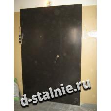 Стальная дверь 00-59, Порошковое напыление + Порошковое напыление