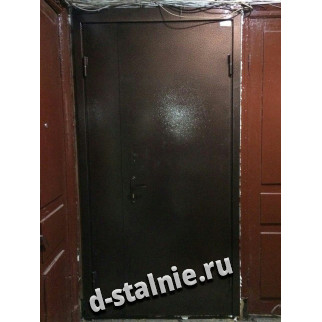 Стальная дверь 01-04, Порошковое напыление + Порошковое напыление