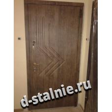 Стальная дверь 00-36, МДФ + МДФ