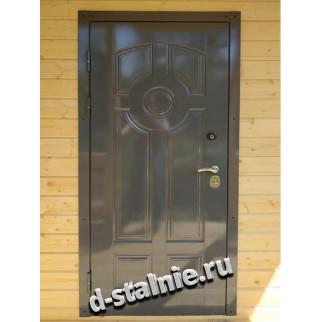 Стальная дверь 00-25, МДФ + МДФ