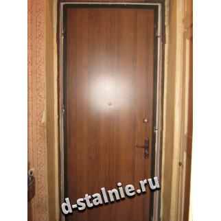 Стальная дверь 00-40, Ламинат + Ламинат