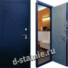 Стальная дверь Н-02, Порошковое напыление + Ламинат