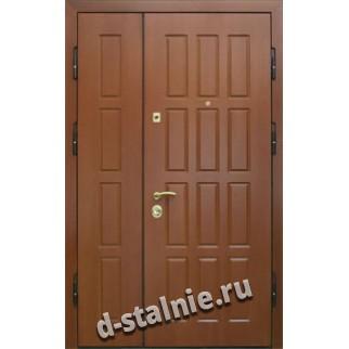 Стальная дверь П6, МДФ + Ламинат
