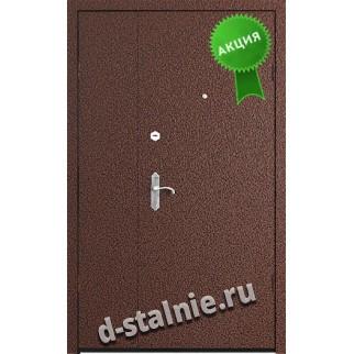 Стальная дверь П4, Порошковое напыление + Ламинат