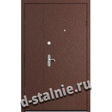Стальная дверь П5, Порошковое напыление + Ламинат