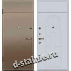 Стальная дверь P1, Порошковое напыление + МДФ