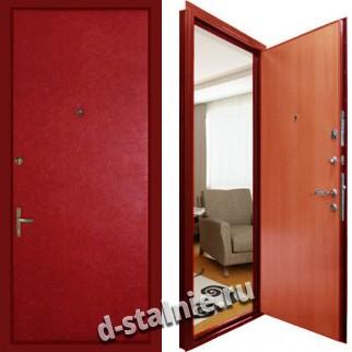 Стальная дверь V1, Винилискожа + Винилискожа