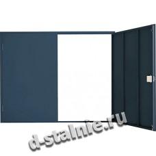 Гаражные ворота стандарт: без калитки