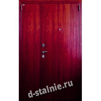 Стальная дверь D3, Ламинат + Ламинат