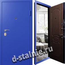 Стальная дверь Л-04, Порошковое напыление + Ламинат