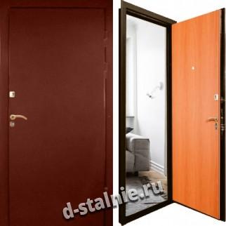 Стальная дверь Л-05, Нитроэмаль + Ламинат