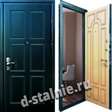 Стальная дверь М-03, МДФ + МДФ