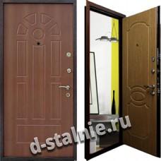 Стальная дверь М-01, МДФ + МДФ
