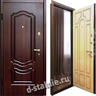 Стальная дверь М-05, МДФ + МДФ