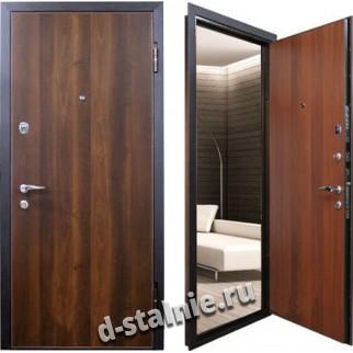 Стальная дверь К-02, Ламинат + Ламинат