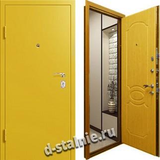 Стальная дверь Н-03, Порошковое напыление + Порошковое напыление