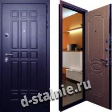 Стальная дверь Н-05, МДФ + МДФ