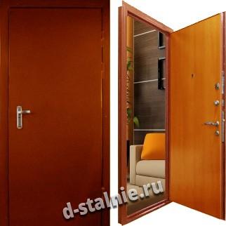 Стальная дверь Э-08, Нитроэмаль + Ламинат