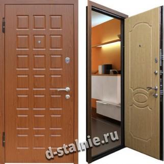 Стальная дверь К-04, МДФ + МДФ