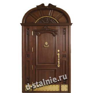 Стальная дверь 99-04, МДФ + МДФ