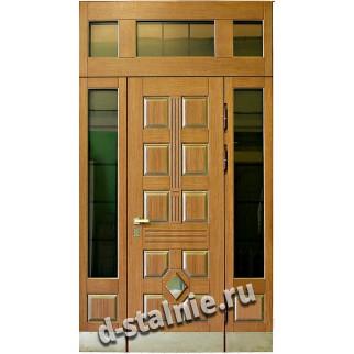 Стальная дверь 99-02, МДФ + МДФ