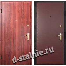 Стальная дверь Л-02, Ламинат + Винилискожа
