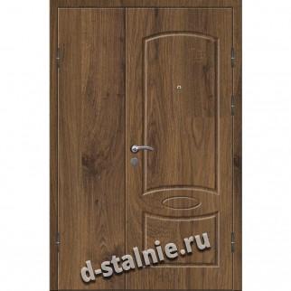 Стальная дверь СТФ-10, МДФ + МДФ
