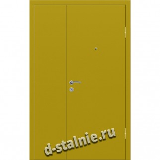 Стальная дверь СТФ-2, Порошковое напыление + Ламинат