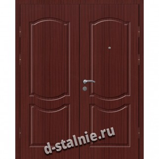 Стальная дверь СТФ-12, МДФ + МДФ