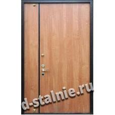 Стальная дверь T7, Ламинат + Ламинат