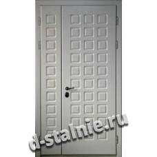 Стальная дверь D6, МДФ + МДФ
