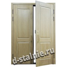 Стальная дверь D9, МДФ + МДФ