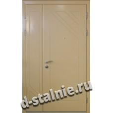 Стальная дверь Модель D5, МДФ 8 мм + МДФ 8 мм